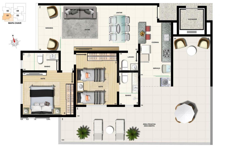 Foto Apartamento de 3 quartos à venda na CIDADE NOVA em Belo Horizonte - Imagem 06