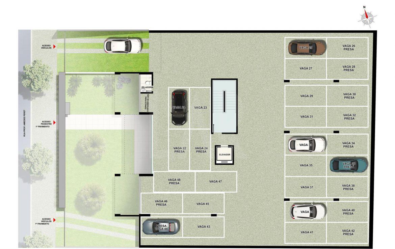 Foto Cobertura de 3 quartos à venda na CIDADE NOVA em Belo Horizonte - Imagem