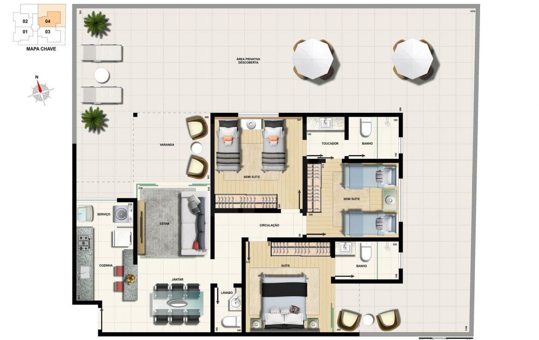 Foto Cobertura de 3 quartos à venda na CIDADE NOVA em Belo Horizonte - Imagem 05