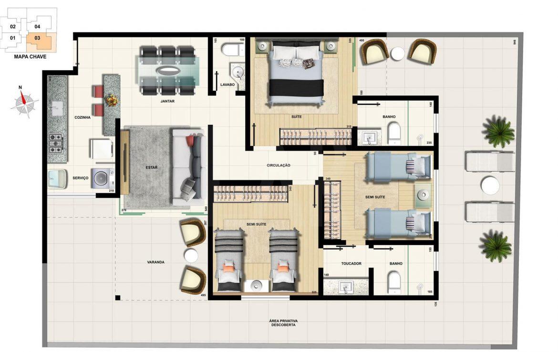 Foto Cobertura de 3 quartos à venda na CIDADE NOVA em Belo Horizonte - Imagem 08