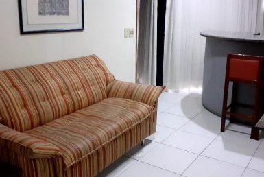 Foto Flat de 1 quarto para alugar no Lourdes em Belo Horizonte - Imagem 01