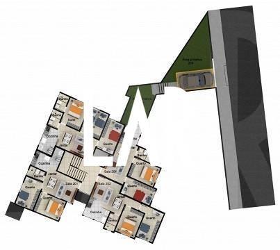 Foto Cobertura de 2 quartos à venda no Alto Caiçaras em Belo Horizonte - Imagem
