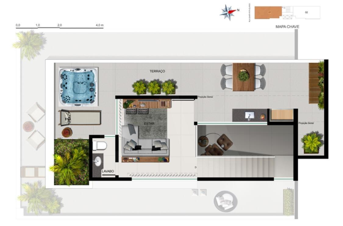 Foto Apartamento de 2 quartos à venda no Funcionários em Belo Horizonte - Imagem 05