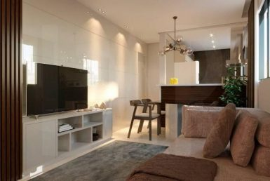 Foto Apartamento de 1 quarto à venda no Sion em Belo Horizonte - Imagem 01