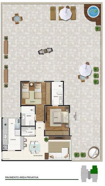Foto Cobertura de 2 quartos à venda no Prado em Belo Horizonte - Imagem