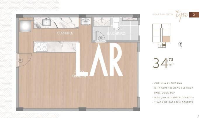 Foto Apartamento de 1 quarto à venda no Boa Viagem em Belo Horizonte - Imagem 06
