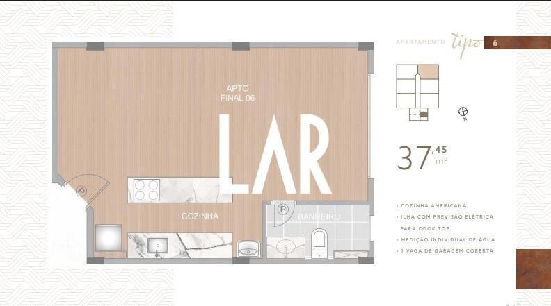 Foto Apartamento de 1 quarto à venda no Boa Viagem em Belo Horizonte - Imagem 09