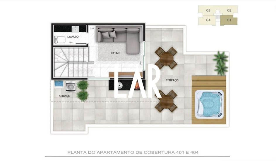 Foto Apartamento de 2 quartos à venda no Buritis em Belo Horizonte - Imagem 09