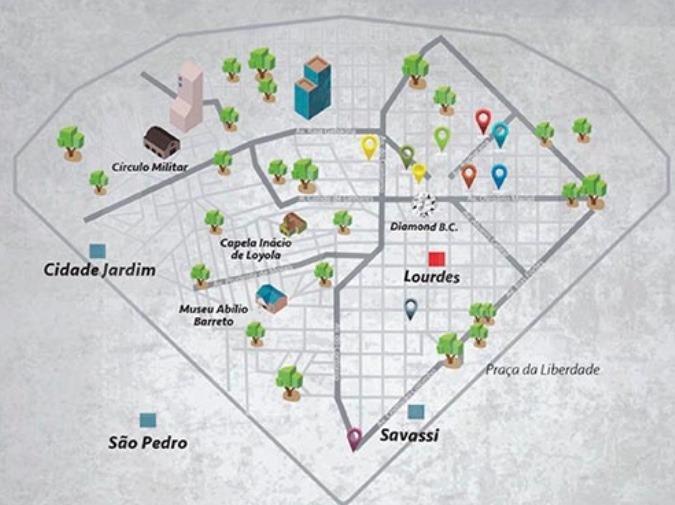 Foto Andar Corrido à venda no Lourdes em Belo Horizonte - Imagem 02