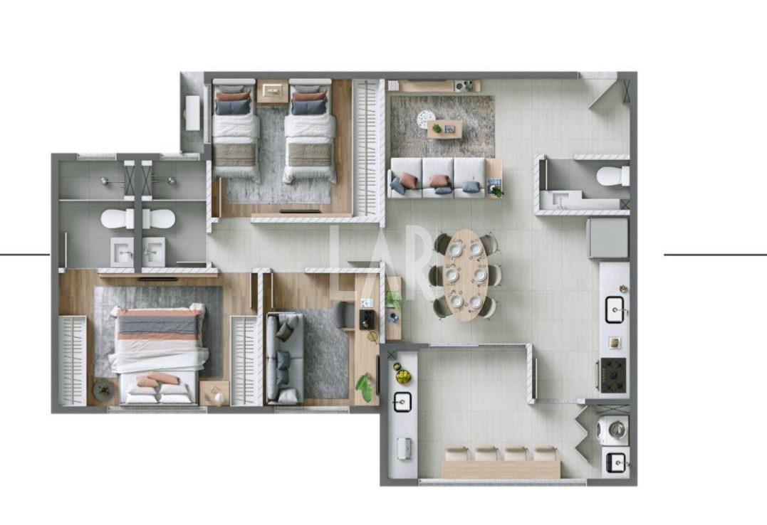 Foto Apartamento de 2 quartos à venda na Pampulha em Belo Horizonte - Imagem 05