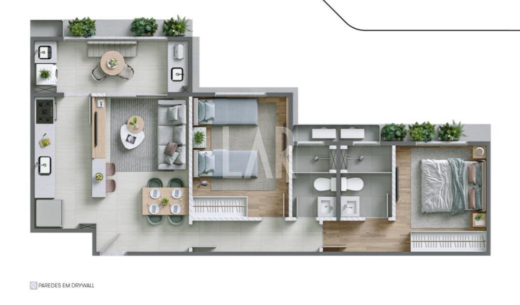 Foto Apartamento de 2 quartos à venda na Pampulha em Belo Horizonte - Imagem 06