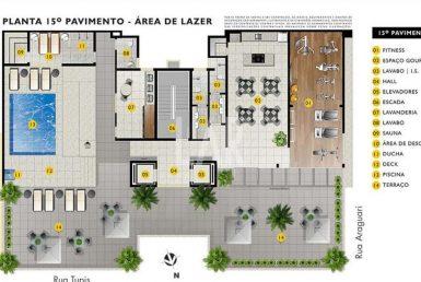 Foto Apartamento de 1 quarto à venda no Barro Preto em Belo Horizonte - Imagem 01